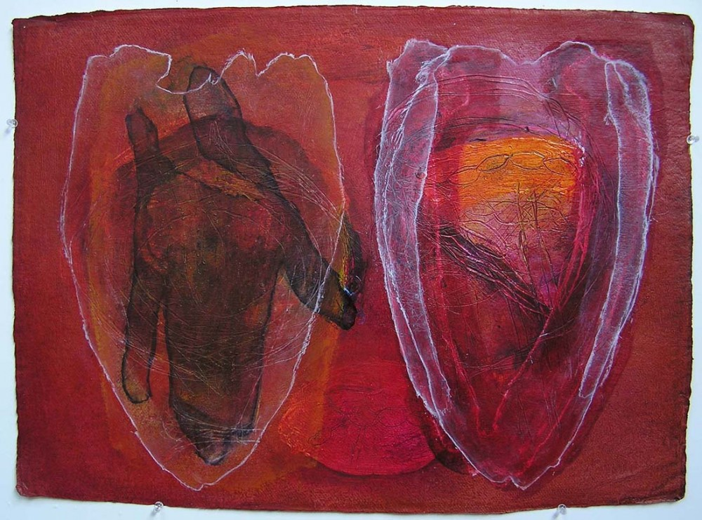 Two Hearts 3 by Robert Hollingworth