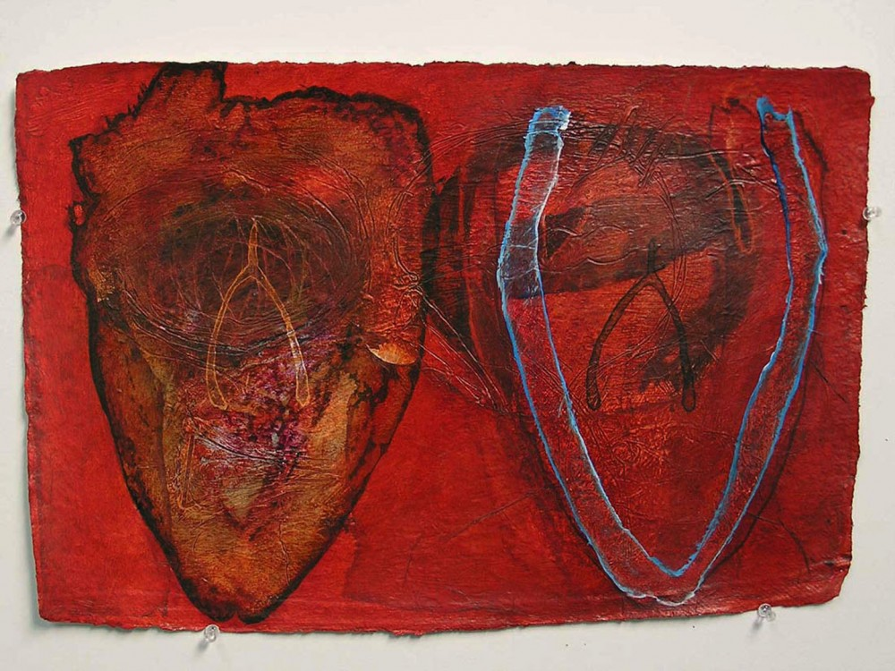 Two hearts 4 by Robert Hollingworth