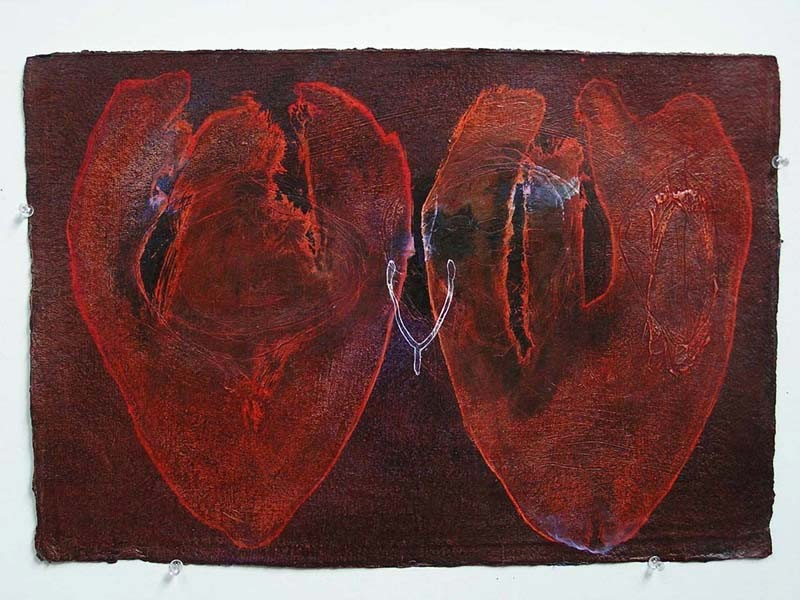 Two Hearts 2 by Robert Hollingworth